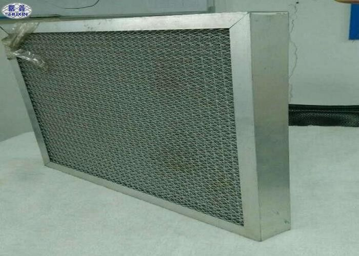 Anti - Corrosion Dust Filter Mesh , Aluminum Metal Mesh Filters Air Filters